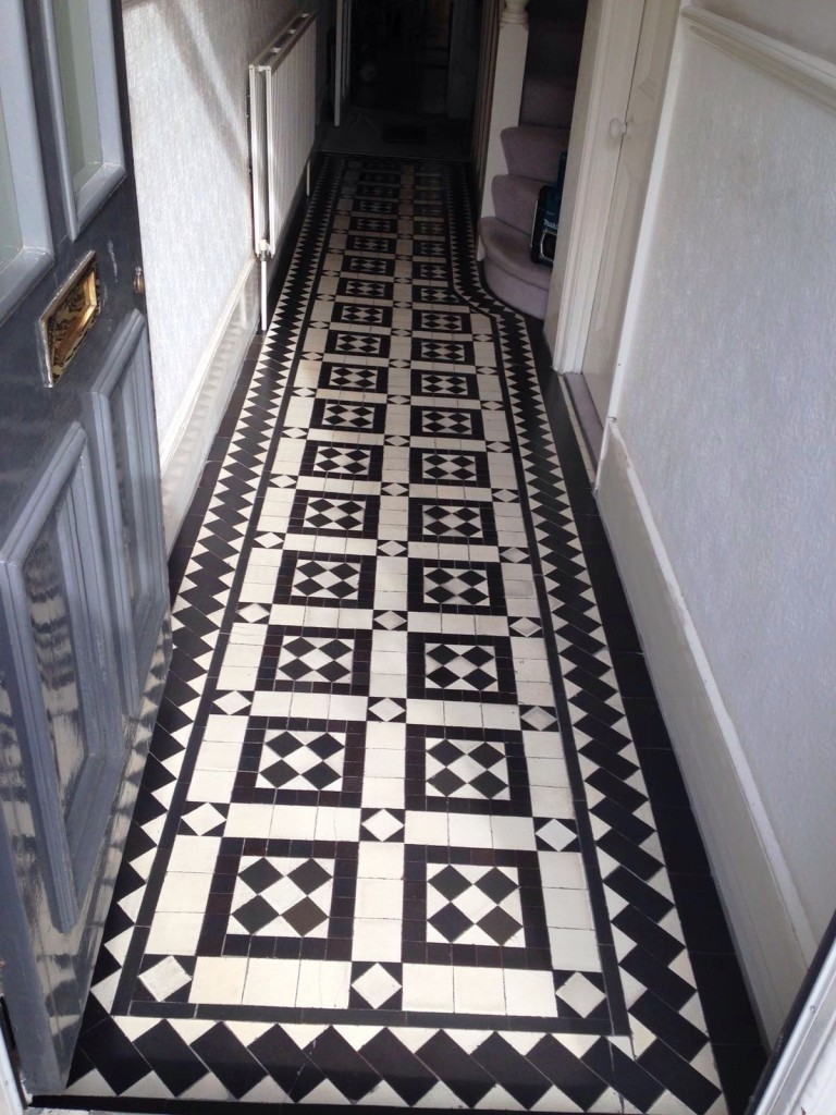 Victorian Tiles After Stoke Newington