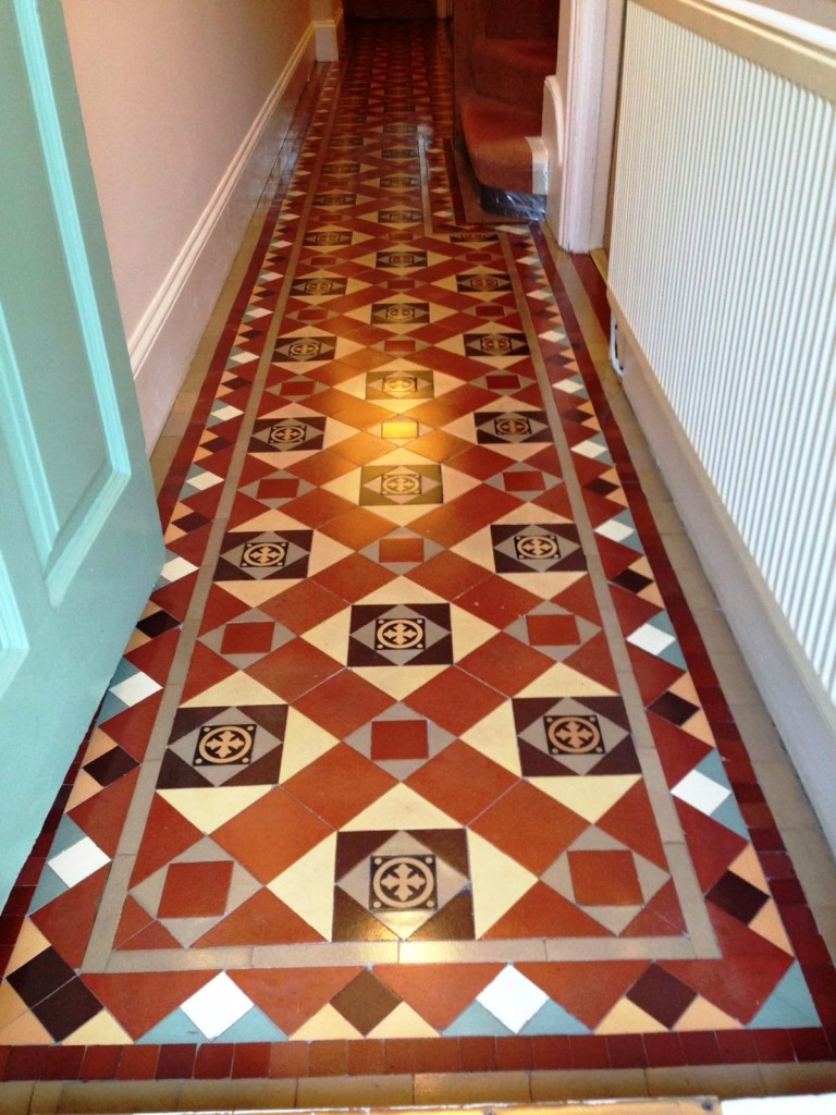Palmers Green Edwardian Hallway After Cleaning