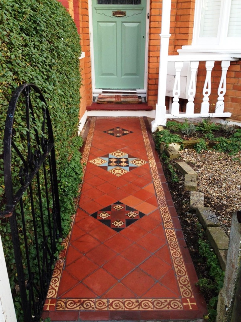 North london tile doctor your local tile stone and grout restoring a victorian tiled hallway doublecrazyfo Gallery