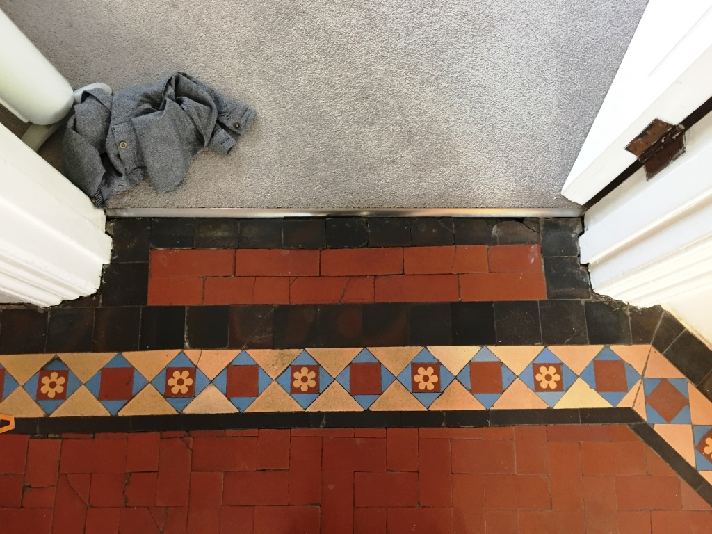 Edwardian Hallway Threshold After Restoration Crouch End