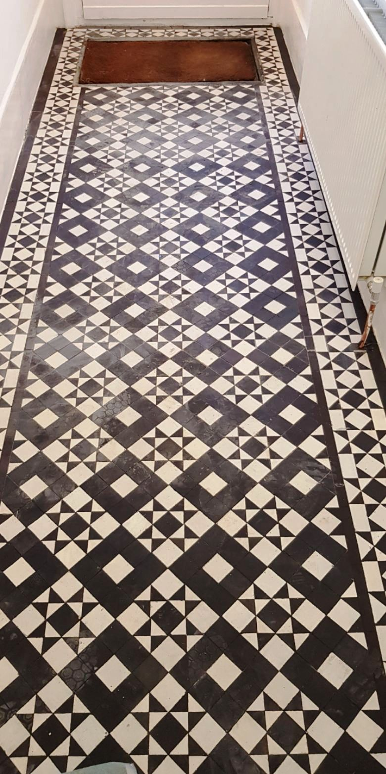 Victorian Hallway After Restoration Winchmore Hill Cropped