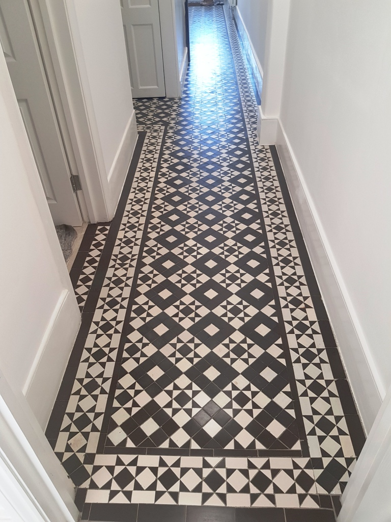 Victorian Hallway After Restoration Winchmore Hill