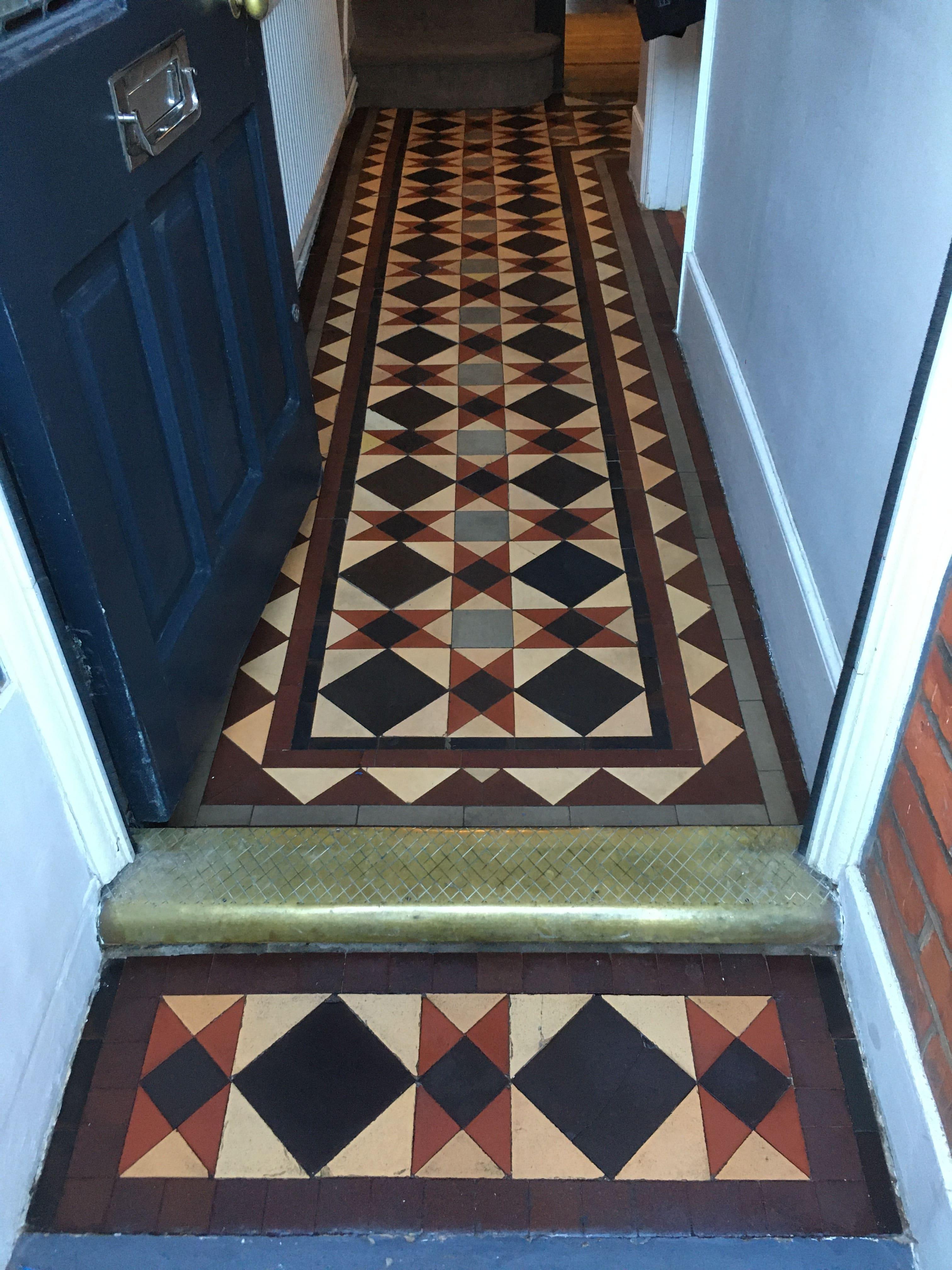 Victorian Floor After Restoration Turnpike Lane N2