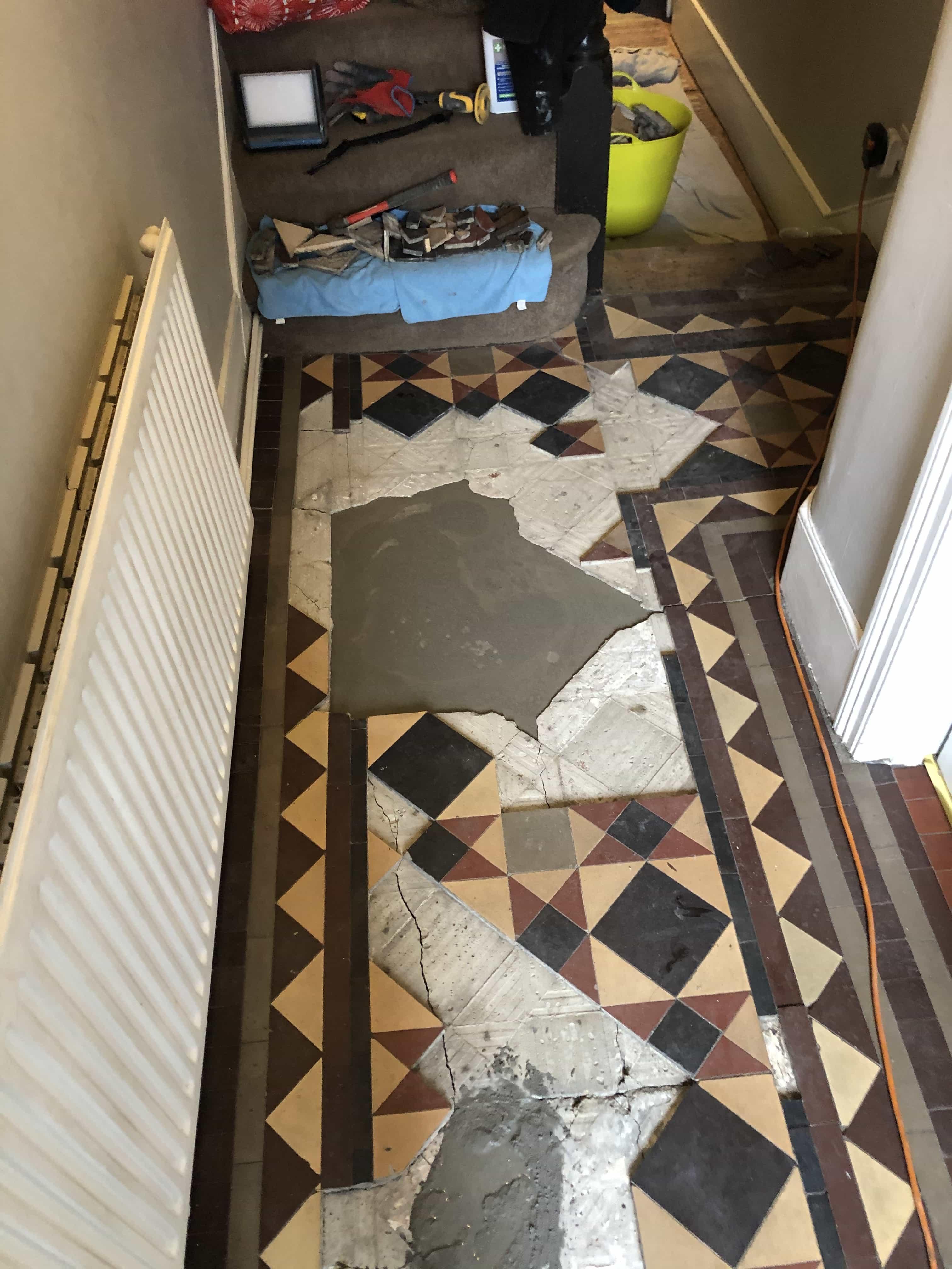 Victorian Floor During Restoration Turnpike Lane N2